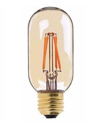 vintage led lamp dimbaar 4w t45 edison gold - db led