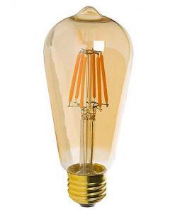 Vintage-led-lamp-dimbaar-6W-E27-ST64-Edison-gold