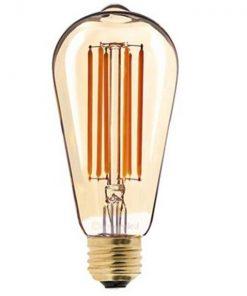 Vintage ST64 led lamp dimbaar 6W Long