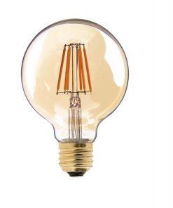 Vintage led lamp dimbaar 4W G80