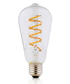Moderne LED Lamp ST64T 4W 2700K Dimbaar
