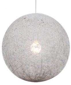 Draadbol Hanglamp Wit Caruba 50CM