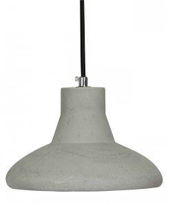 Hanglamp Beton No.2 zwart strijkijzersnoer