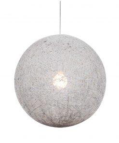 Draadbol Hanglamp Wit Caruba 30CM