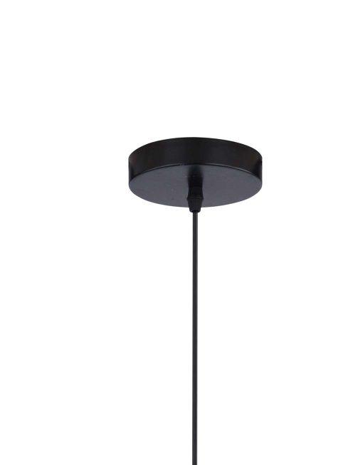 Hanglamp Gaas Briks Industrieel zwart